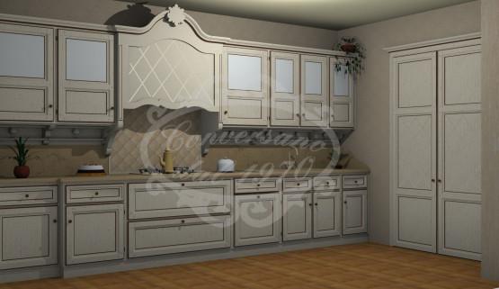 Cucine con dispensa amazing cucine con dispensa ad angolo - Mobile porta forno microonde ...