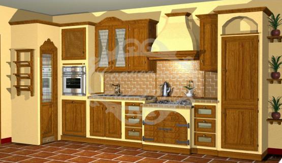 Conversano arredamenti progettazione mobili su misura - Progetto cucina angolare ...